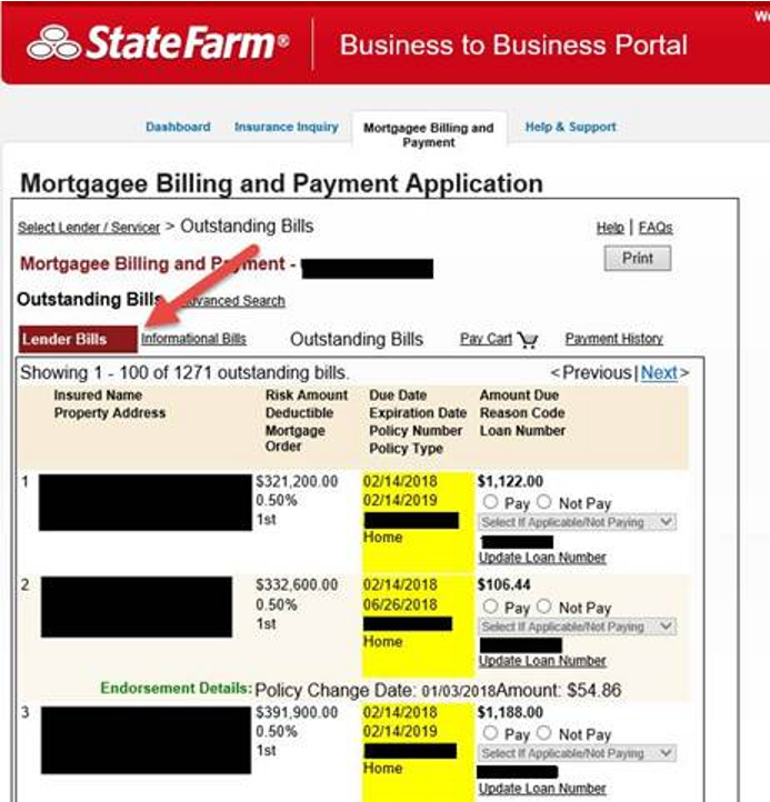 B2b Mortgage Lender And Auto Third Party Mbps Examples